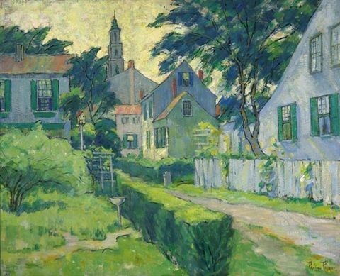 Our Lane, Provincetown by Pauline Palmer