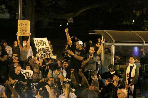 EUA - Revelado vídeo do tiroteio da polícia em Charlotte