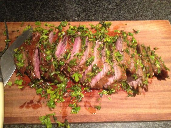 Marinated Fillet of Beef