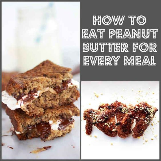 29 Ways To Eat Peanut Butter For Every Meal- I've been doing this for years.