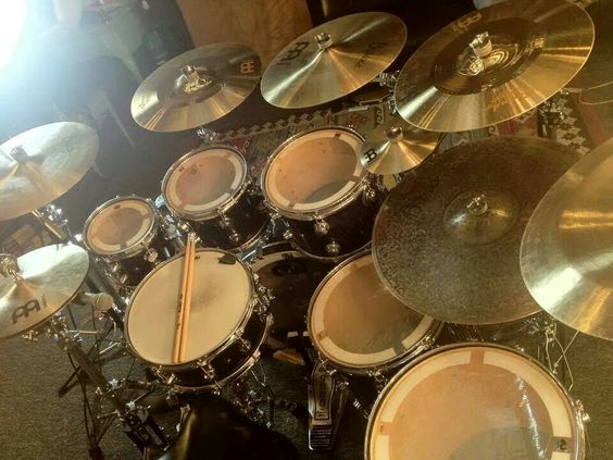 Those cymbals