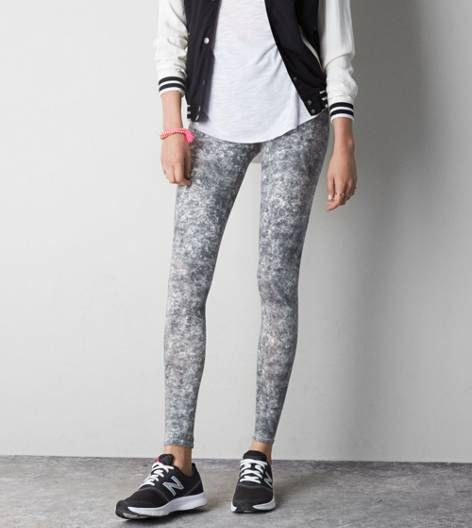 Some kind of printed legging
