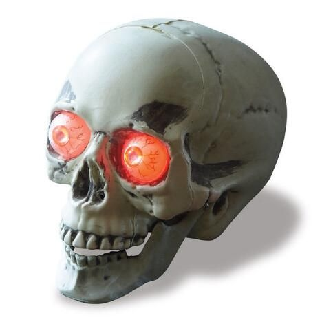 Motion-Activated LED Skull $14.99
