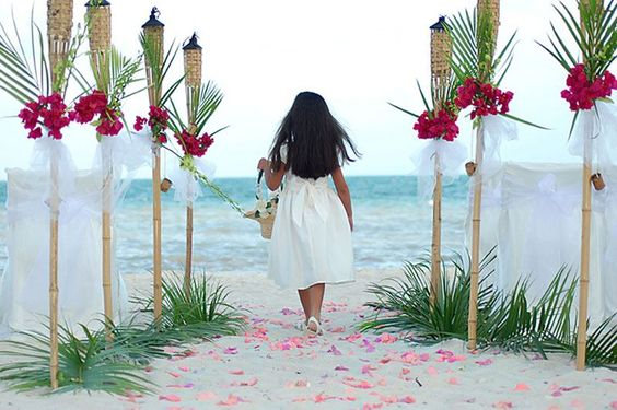 Sunset Tiki Torch Wedding Beach Wedding Decorations
