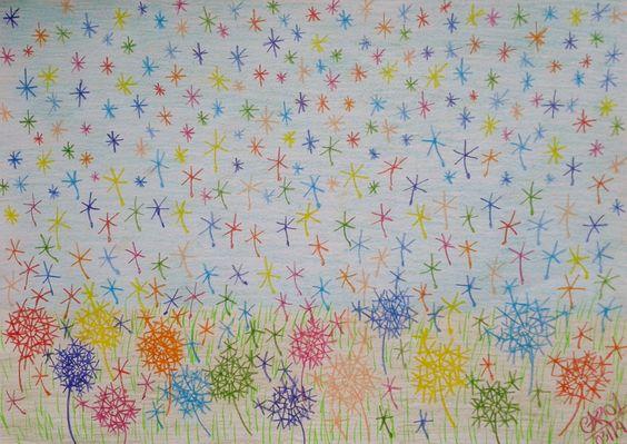 Desenho surrealista feito com lápis de cor por Carol Soares / Surreal draw made with color pencil by Carol Soares #pencil #colorful #surrealpainting #AlmaDasCores