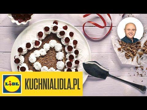 Tort Szwarcwaldzki Z Wisniami Pawel Malecki Przepisy Kuchni Lidla Youtube Food Breakfast Cereal