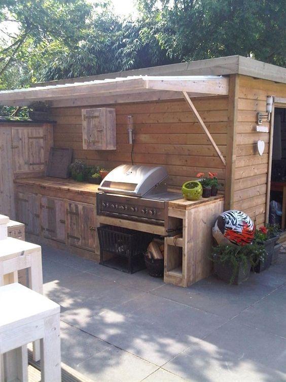 Garten Charme Akzente Flaggen Garten Steaks Rezepte Grosse Blume Garten I Akzente Rustic Outdoor Kitchens Outdoor Kitchen Bars Diy Outdoor Kitchen