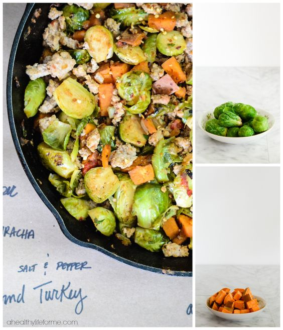 Brussels Sprout Sweet Potato Hash | Recipe | Pinterest ...