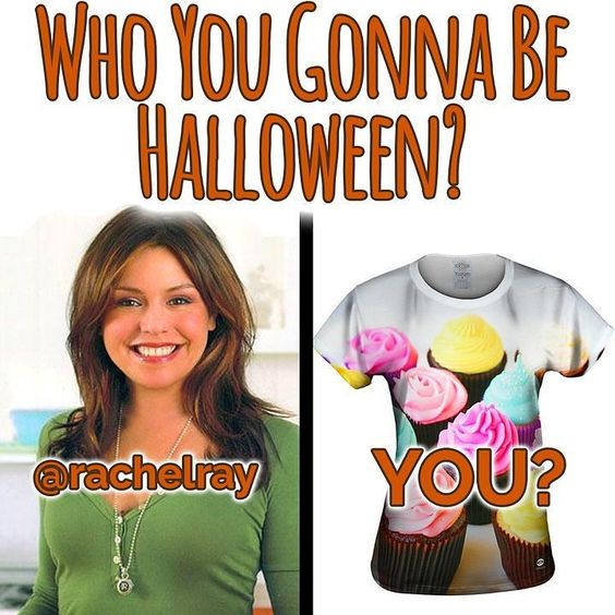 Is @rachaelray your spirit animal? This halloween you can show it off with our shirt  - http://bit.ly/1FQ0UHz #TeamRachel