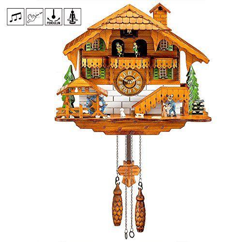Kintrot Cuckoo Clock Black Forest Quartz Wall Clock Pendu Https Www Amazon Com Dp B071w235bn Ref Cm Sw R Pi Dp U X Ryd5bbxyf Cuckoo Clock Wall Clock Clock