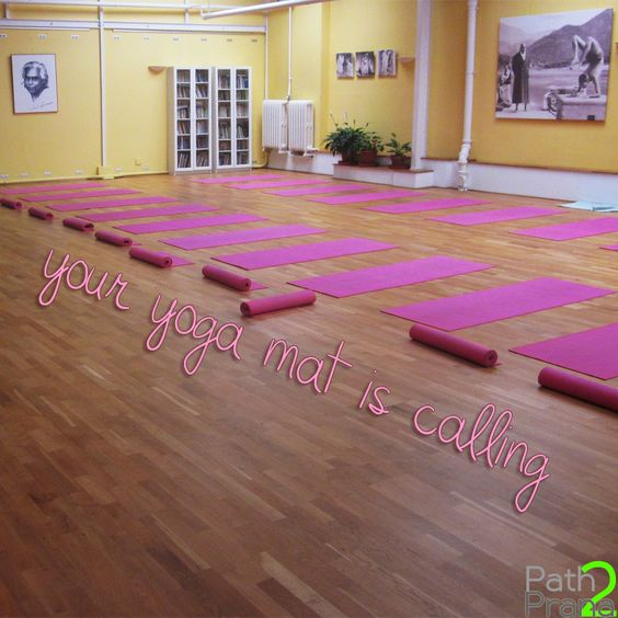 Your yoga mat is calling.   Follow your Path2Prana.