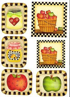 Etiquetas para decorar botes mermelada imagenes y dibujos - Dibujos de cocinas ...