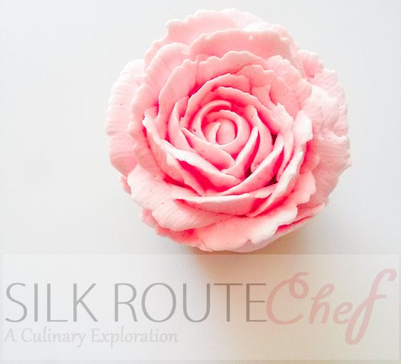 Falooda Cupcakes with Condensed Milk Buttercream Frosting – Shortcut Version and Antique Rose Design