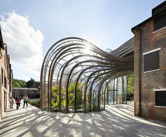 Thomas Heatherwick's Bombay Sapphire distillery - see more on blog