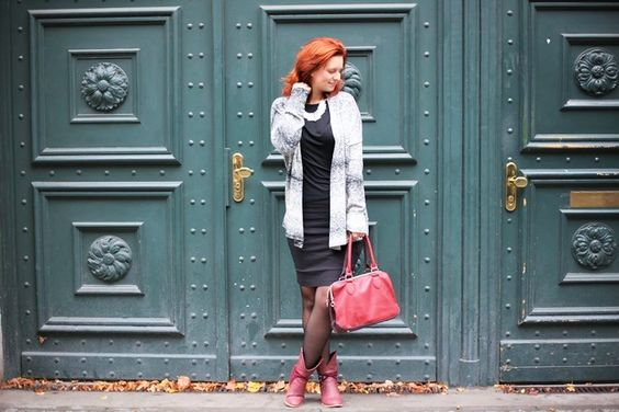 Bench_Bench Strickjacke_black and white_Outfit_schwarz weiß Outfit_Outfitpost_Annanikabu_3