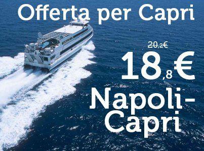 Offerta Capri 18.80 € #Napoli - #Capri http://www.navlib.it/
