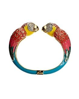 Parrothead bangle
