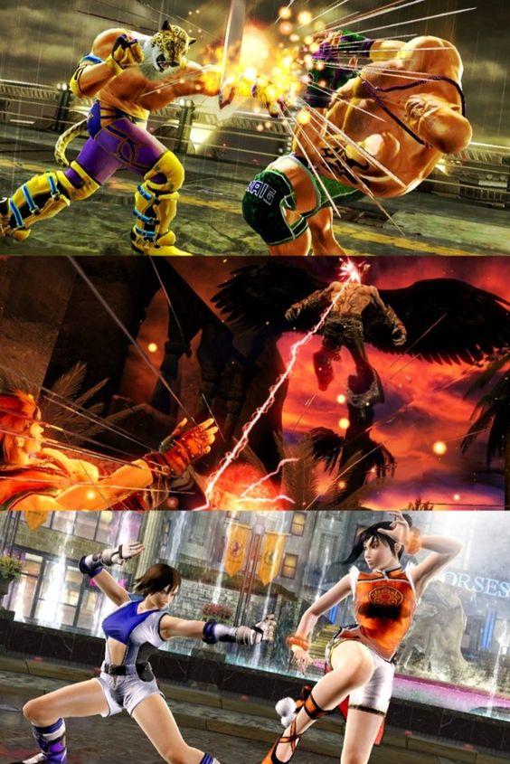 Tekken 6 Game Screenshots