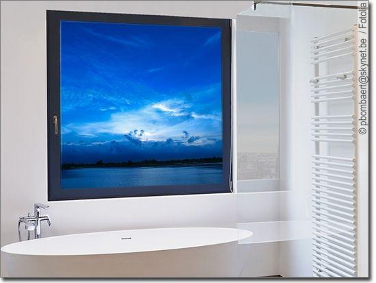 Glasbild Wasser Glasbilder Folie Fur Fenster Sichtschutzfolie