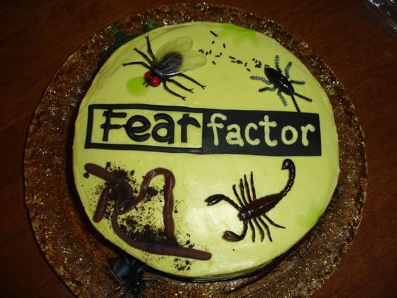 Munching Bull Testicle   Fear Factor Extra - YouTube  Fear Factor Worms