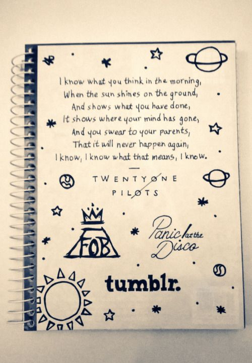 Cute Notebook Doodles Tumblr Google Search Art