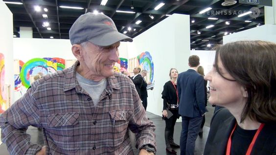 Interview with Richard Jackson at Art Cologne 2016