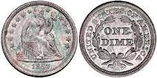 Liberty seated half dime
