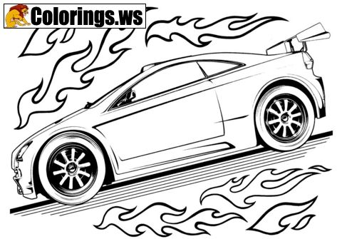 New Car Coloring Pages Car Coloring Pages In This Coloring Page Its Our New Collection Name I Carros Para Colorir Desenhos De Carros Desenho Do Hot Wheels