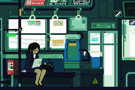 This Is Daily Life in Japan as Seen Through an 8-Bit Lens