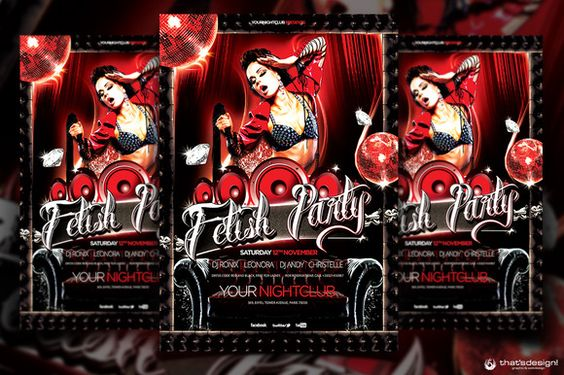 Check out Fetish Party Flyer Template by ThatsDesign on Creative Market