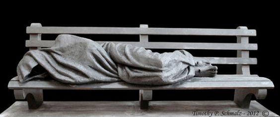 Homeless Jesus - Timothy Schmalz
