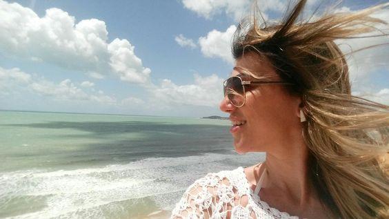 E o mar para relaxar...