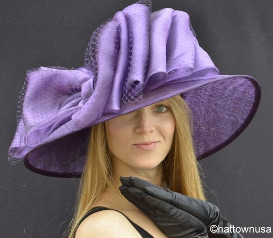 Details about NEW Southern Belle Womens Kentucky Derby Hat ...