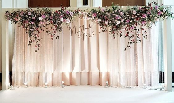 Display Ultimate Social Icons Beautiful Backdrop And Lighting Ideas For All Occasion Wedding Flower Decorations Wedding Stage Decorations Wedding Decorations