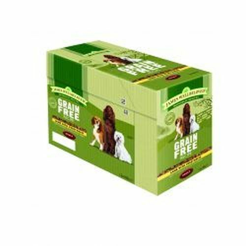 James Wellbeloved Dog Adult Grain Free Lamb 12 Pack 1x 100g