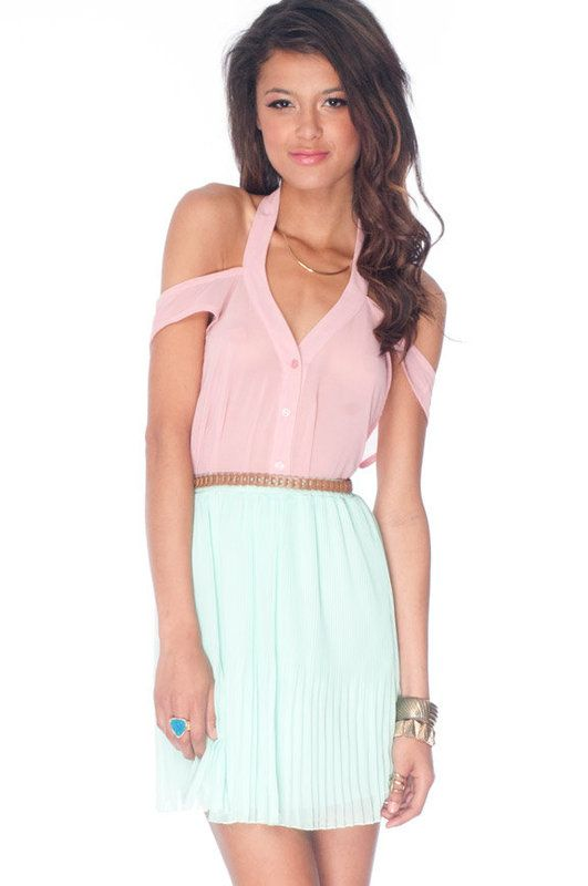 Lucky Button Down Tank Top in Rose Pink :: tobi