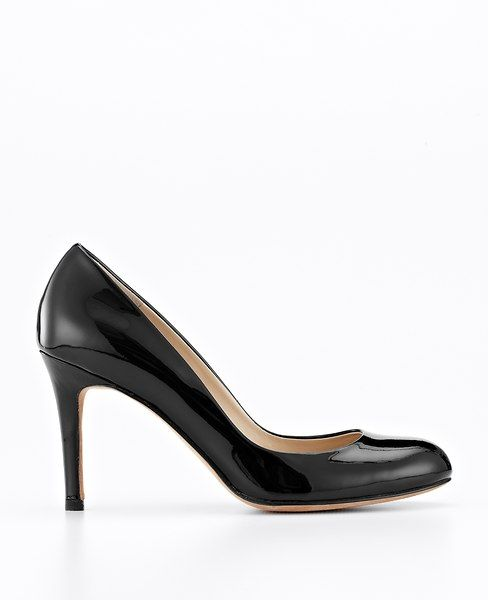 Ann Taylor - Perfect Pump Patent Leather, Black, $10.99