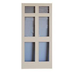 Screen Tight36-in x 80-in Regal Full-View Tempered Glass Storm Door Item #: 77258  Model #: WRGL36T $311.84