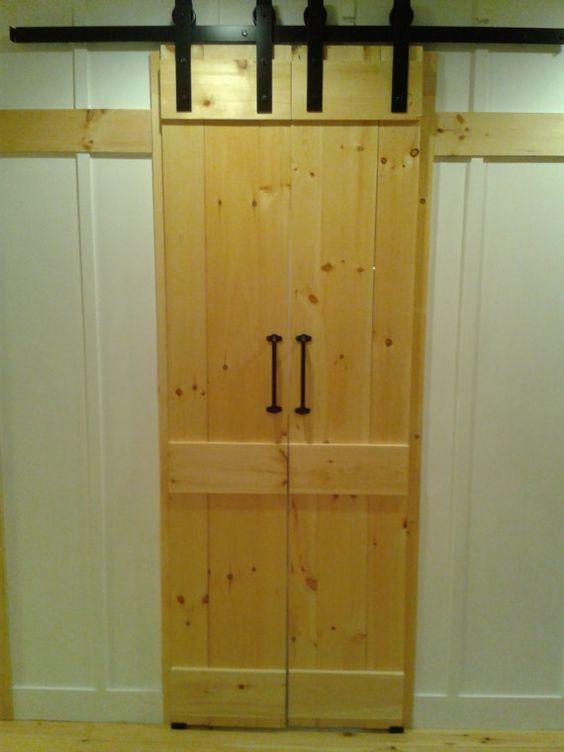 Barn door style interior sliding doors by for 48 inch barn door