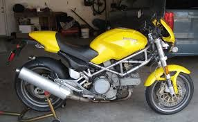 「DUCATI monster yellow」の画像検索結果