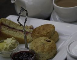 Enjoy a cream tea at the Bolney Estate Vineyard Cafe, or choose from a menu including breads and pastries from The Home Cakery in Hove, Kentish goat's cheese and Bolney Estate's own wines.