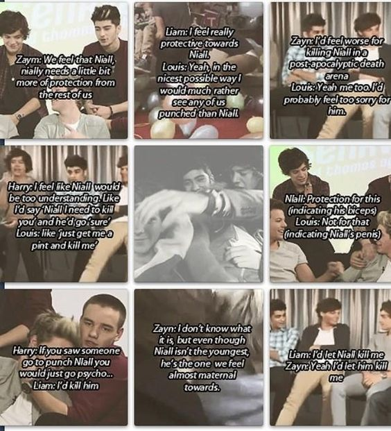 Awwwww this is so sweet!!! They are so protective of Niall and its just so adorable how much they support and trust each other!! (: xx