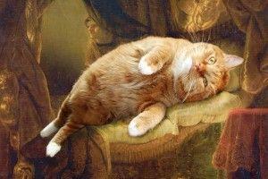 Great Artist's Mews. Большому коту - большие художники.