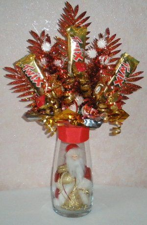 Candy Bouquet Candy And Christmas Candy On Pinterest