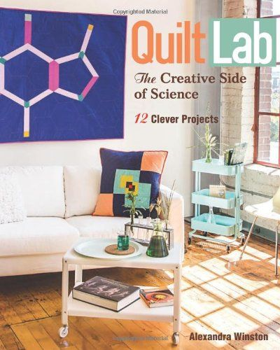 Quilt Lab-The Creative Side of Science: 12 Clever Projects by Alexandra Winston,http://www.amazon.com/dp/1607058030/ref=cm_sw_r_pi_dp_JLWYsb1PN8AB220F