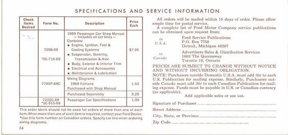 Blank Po Form Om69048  Manual 1969  Pinterest