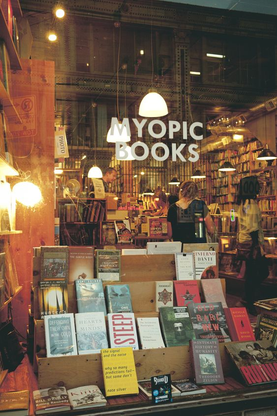 ☐ Myopic Books — Chicago #usedbooks #bookstores