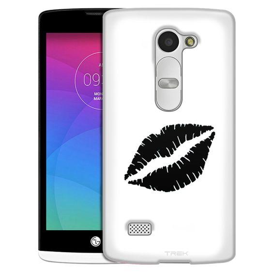 LG Leon Silhouette Kissing Lips on White Slim Case
