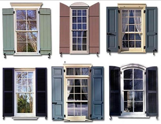 Types of Exterior Shutters