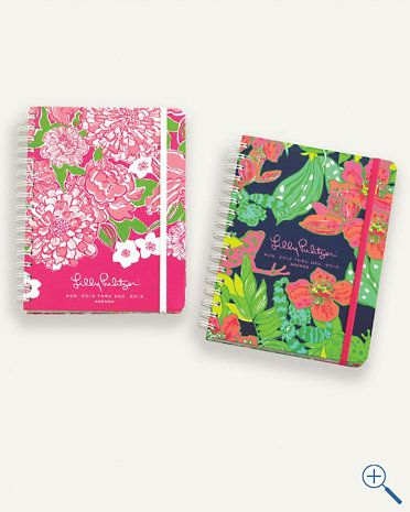 Lilly Pulitzer planner - begins with August 2012!